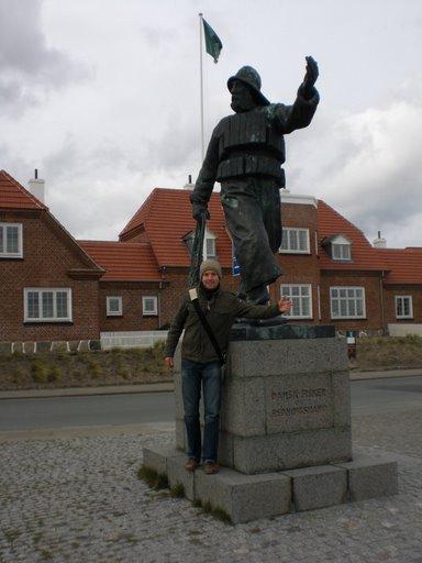 Me and the 'Dansk Fisker'